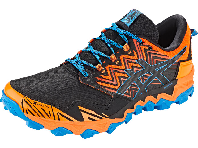 asics Gel-Fujitrabuco 8 G-Tx Shoes Men shocking orange/black